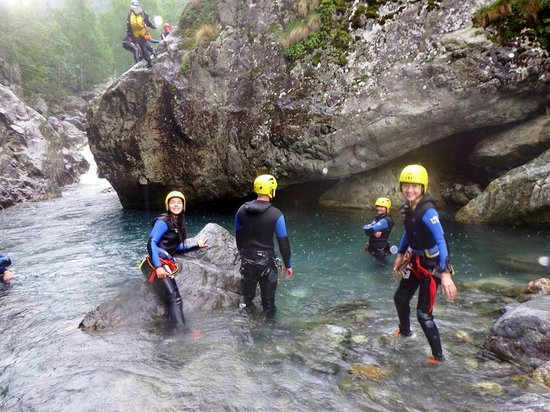 Hotel Les Templiers : Canyoning