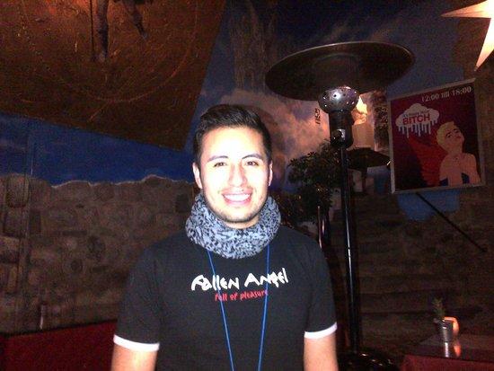 Fallen Angel : Juan our nice and friendly waiter