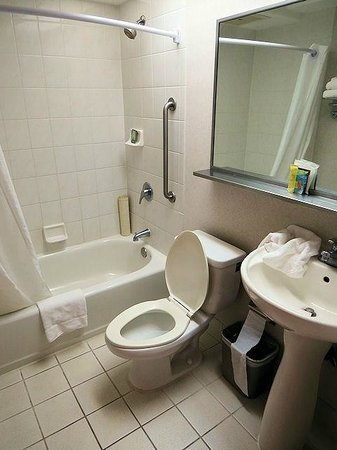 Ilima Hotel: Basic bathroom. Nice and clean