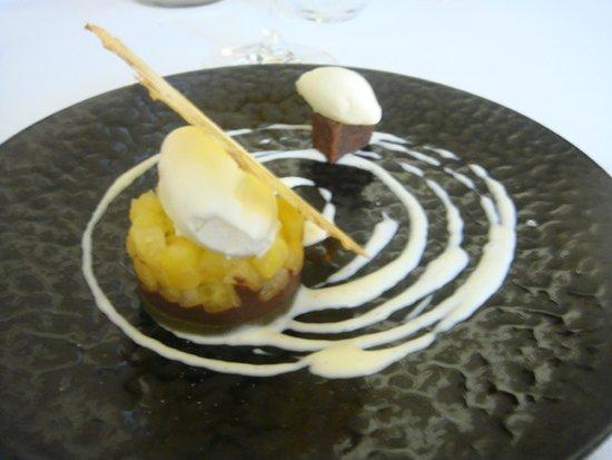 Chateau de Strainchamps : Mon dessert