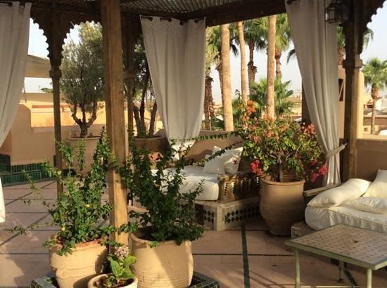 Les Jardins de la Medina: la terrasse sur le toit