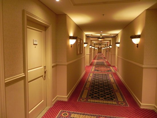 Peermont D'oreale Grande at Emperors Palace: corridors of power