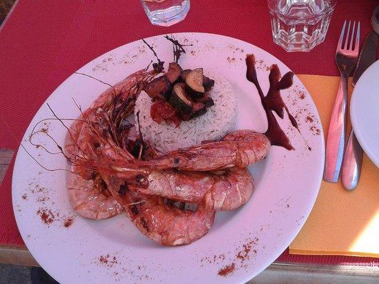 Hotel Le Balcon : Plat du menu