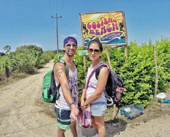Costeno Beach Surf Camp: entrada
