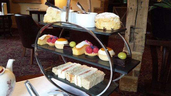 Fawsley Hall Hotel & Spa: Faultless afternoon tea!