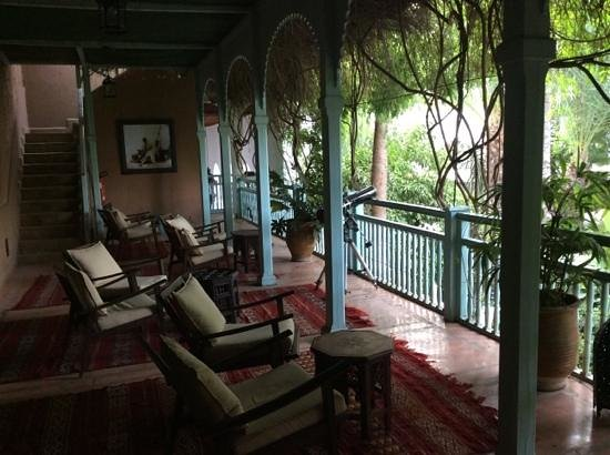 Les Jardins de la Medina: une terrasse salon