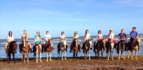 S-n-G Horseback Riding: Our youth group went and had a great time. Many thanks to Jason, our tour guide, for posing us f