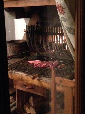 Restaurante Hotel Valle de Pineta: entrecot