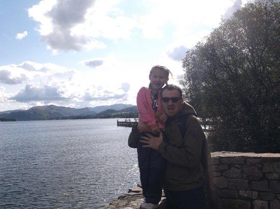 Ullswater Lake: Enjoying the views.