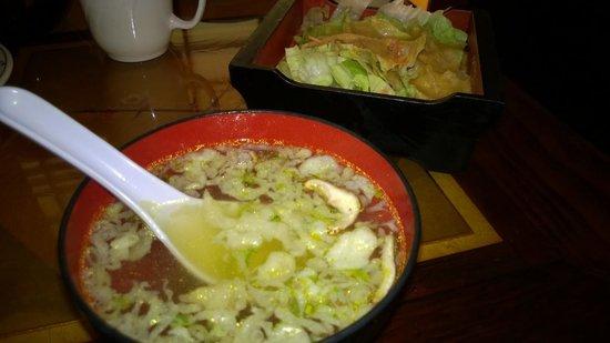 Yokohama Japanese Restaurant: Soup & Salad