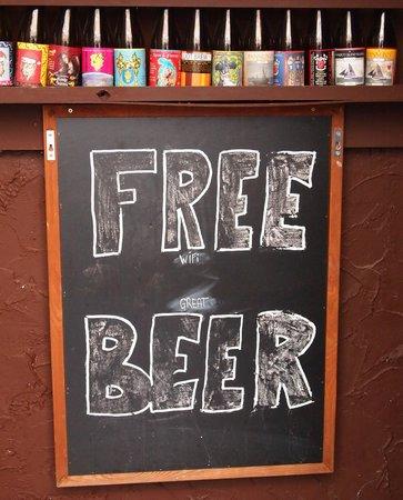 De Kelk: Free Beer?? Am I wrong? No, just drunk...