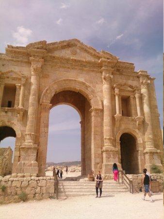 Ruines de Gérasa : Jerash