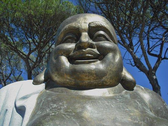 Buddha Eden Garden : Buda sorridente