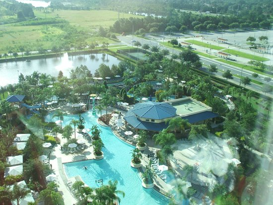 Hilton Orlando: view from 15th floor