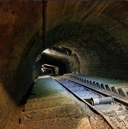 Museo minero Escucha: Galerías subterráneas donde no se podía acceder