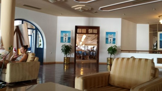 Lagas Aegean Village: Hotel Lobby