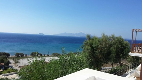 Lagas Aegean Village: View from 470