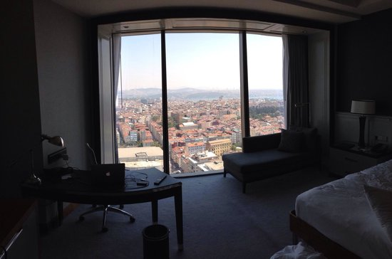 Hilton Istanbul Bomonti Hotel & Conference Center: View from our room