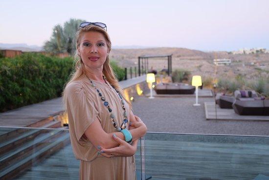 Sheraton Gran Canaria Salobre Golf Resort: Venue at the Chameleon Restaurant (wife not included)