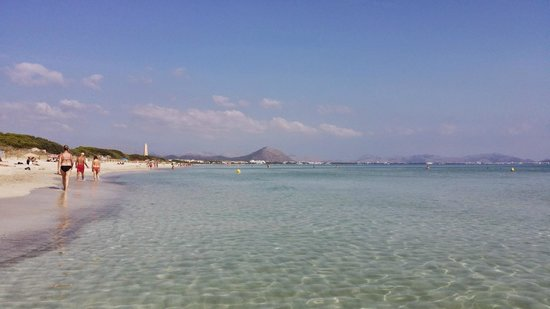 Valentin Playa de Muro: Playa de Muro on a perfect day