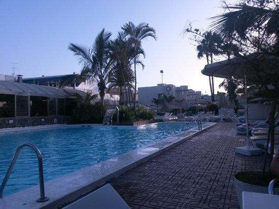 Eden Apartments: The pool