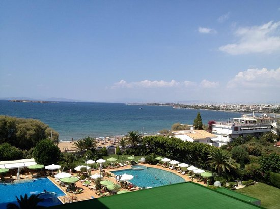 Divani Apollon Suites: from balcony