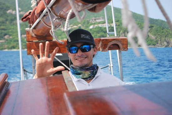 Catania Charters: Captain Ocean @ the Helm