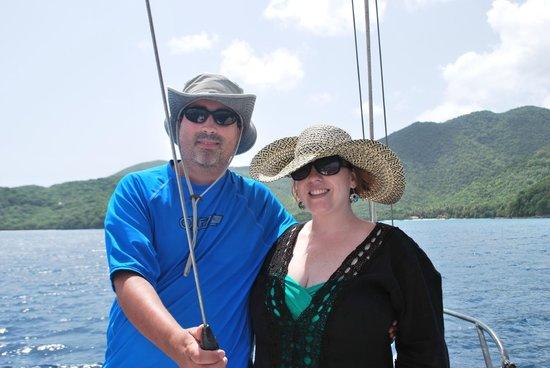 Catania Charters: Sailing around St. John