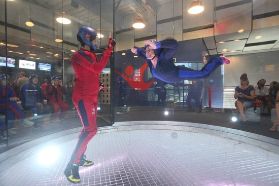 iFLY Austin Indoor Skydiving: Sarah