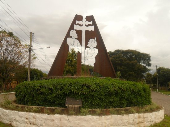 São Martinho da Serra, RS: Praça