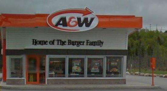 A&W Restaurant : A & W Deer Lake