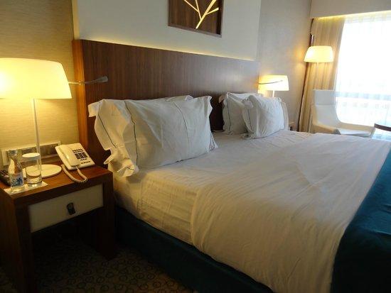 EPIC SANA Lisboa Hotel : Una de las camas mas cómodas en las que he dormido!