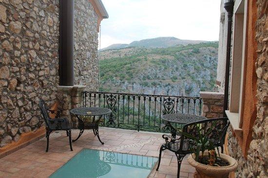 Hotel Villa Torre Antica: balcone