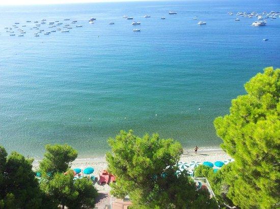 Hotel Punta Licosa: Visione spettacolare  Camera con vista mare naturalmente