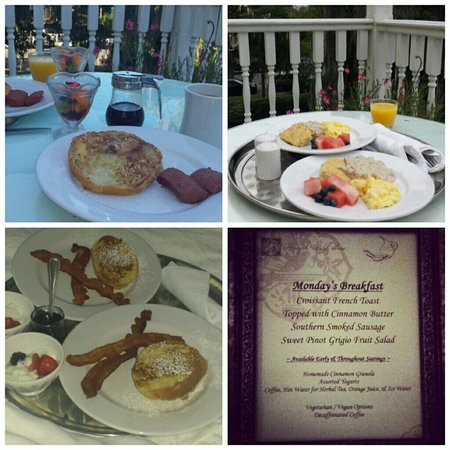 Forsyth Park Inn: Delicious food!