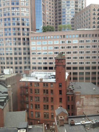 Hilton Boston Downtown / Faneuil Hall: view from a room