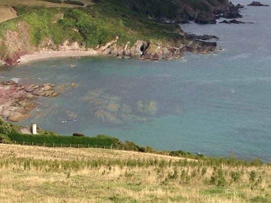 Talland Bay Beach Cafe : lovely view