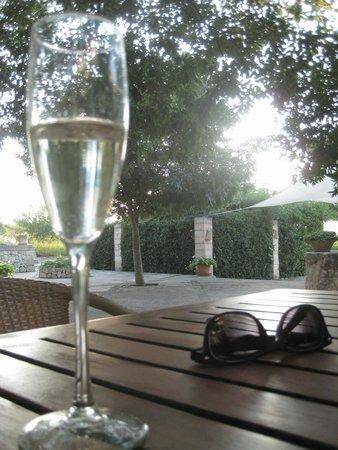 Agroturismo sa Rota d'en Palerm: Garten-Apero