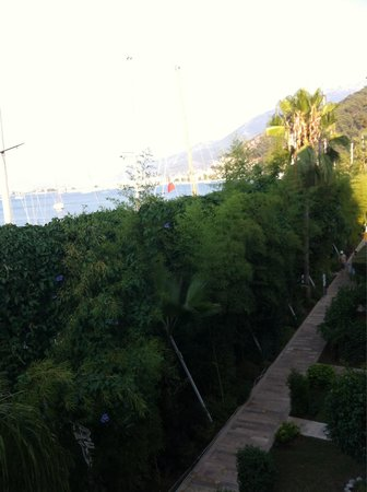 Marina Boutique Fethiye  Hotel: View from the room