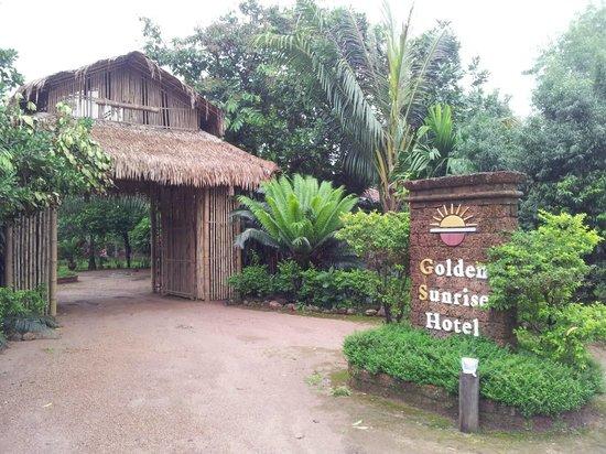 Golden Sunrise Hotel : Entrée