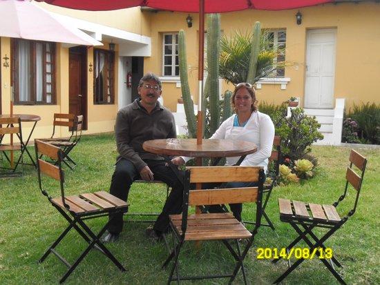 Hotel La Cartuja: Jardín Hostal La Cartuja
