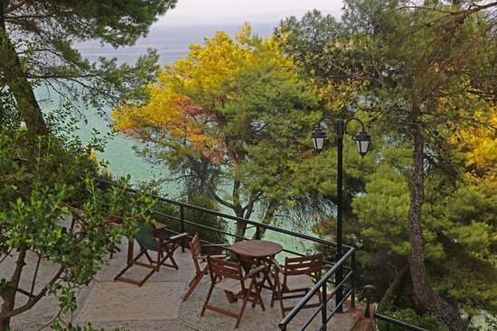 Nostos Hotel: View from terrace