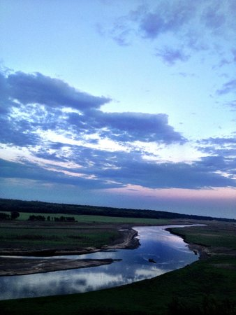 High Trestle Trail: The Des Moines River from the High Trestle Bridge