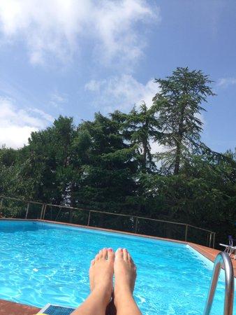 Hotel Colle Etrusco Salivolpi: Pool at Hotel Salivolpi