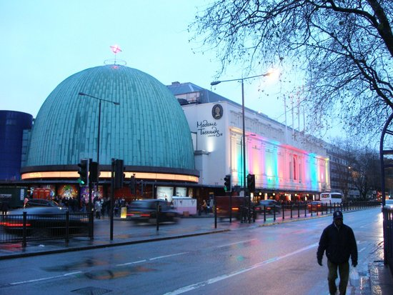 Madame Tussauds London: Outside view