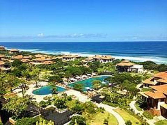 Fairmont Zimbali Resort: View from the lobby observation area (outside)