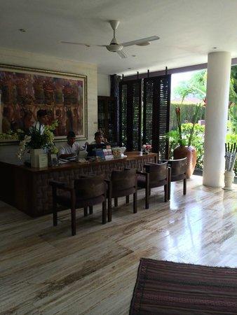Gending Kedis Villas & Spa Estate: Reception