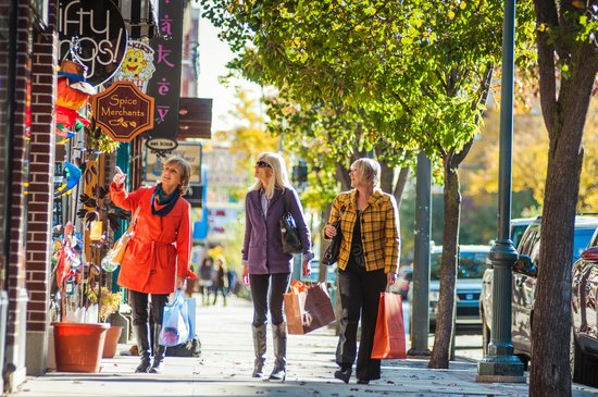 Fall Shopping in Traverse City