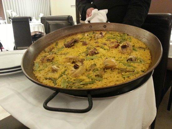 Paella Valenciana Pollo Coniglio E Lumache Foto Di Restaurante De Ana Valencia Tripadvisor