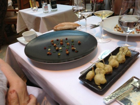 Hôtel Lancaster Paris Champs-Élysées: очень красивая подача блюд
